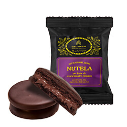 dulce manjar nutela negro